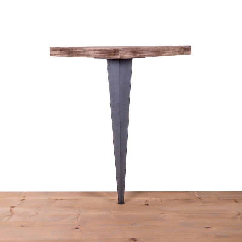 gamba in ferro per tavolo pyramide 90x100ferro