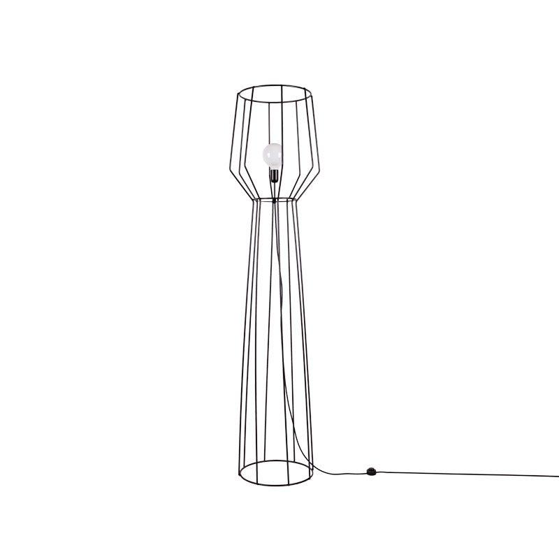lampada da terra rod 90x100ferro