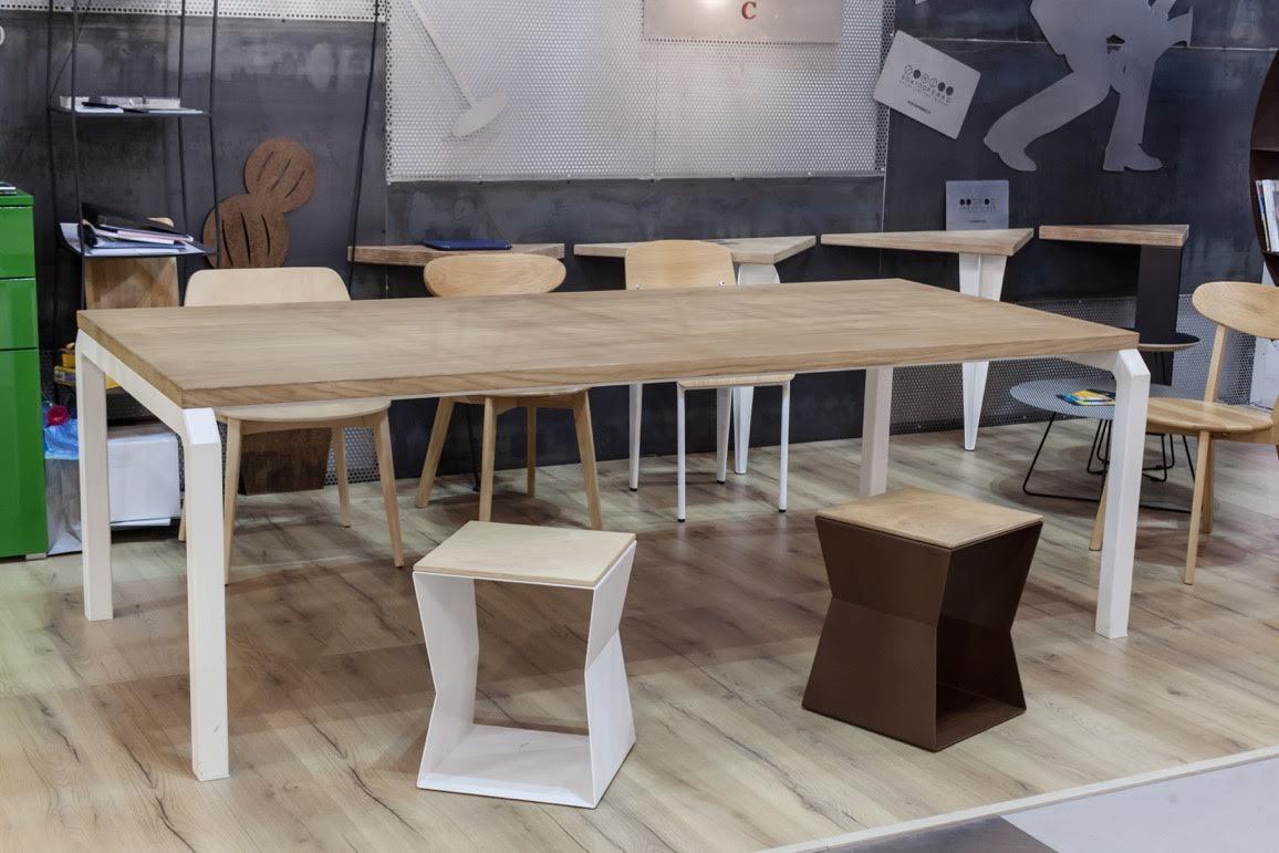 90x100 ferro tavolo su misura
