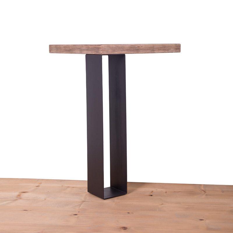 gamba in ferro per tavolo atich 90x100ferro