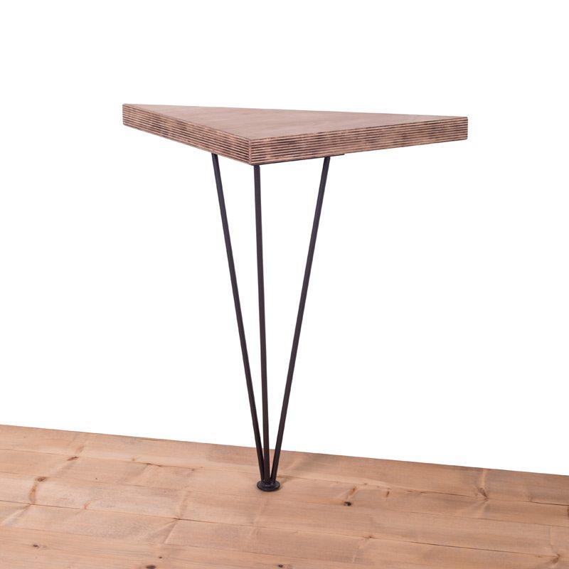 gamba in ferro per tavolo baton 90x100ferro