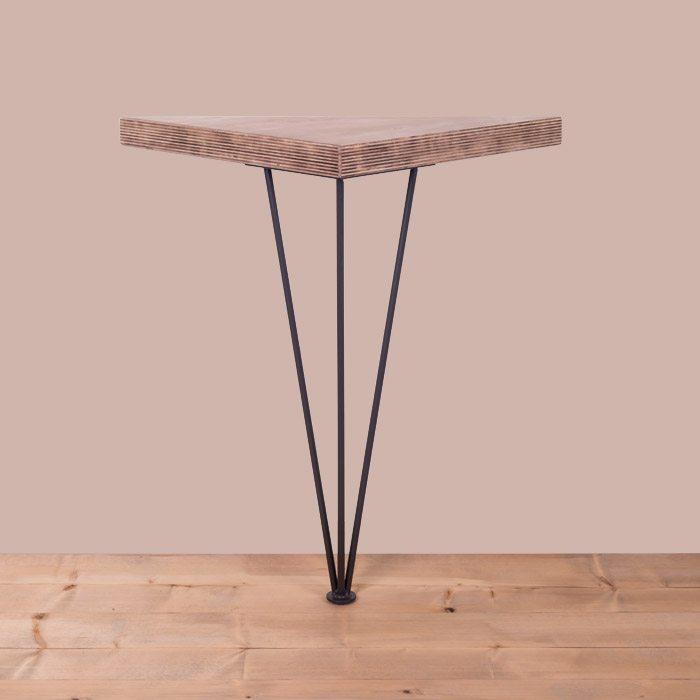 gamba per tavolo in ferro 90x100ferro