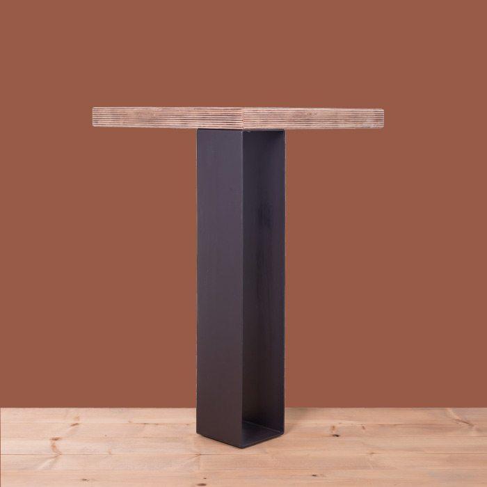 gamba in ferro per tavolo 90x100ferro