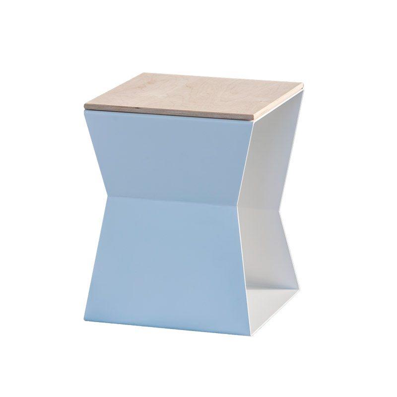 tavolino helix ferro e legno