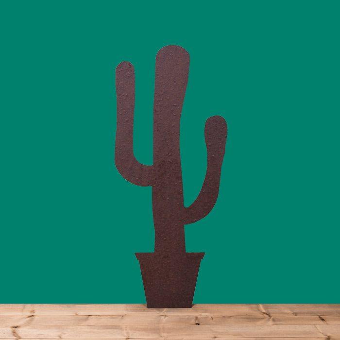 sagoma ferro cactus 90x100ferro