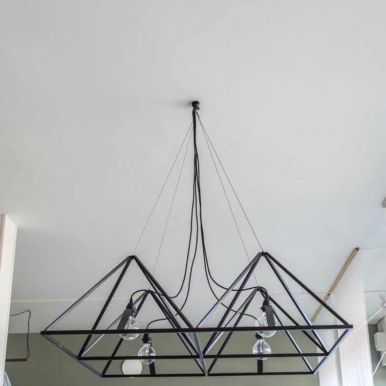 90x100 ferro cairo lampadario