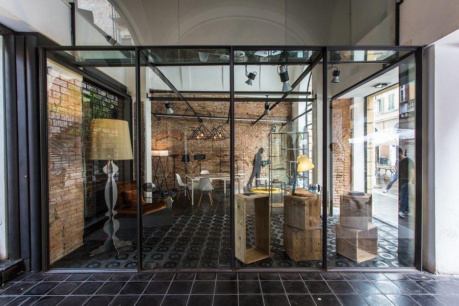 ferro design interior Girotti Mantova